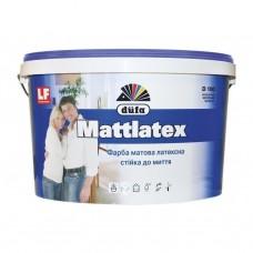 Фарба DUFA D100 3,5кг латексна матова MATTLATEX (стійка до мийки)