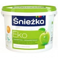 Фарба акрилова «Снєжка Еко» біла 3л (4,2 кг)