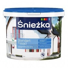 """Фарба фасадна акрилова """"Снєжка-Стандарт» 10 л (14 кг)"""