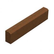 Поребрик 100×20×6 (коричневий), L100 w6 h20)