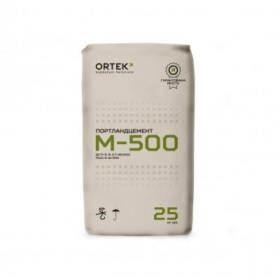 ORTEK Цемент ПЦ-500 D20 ЗЕЛЕНИЙ (25кг)