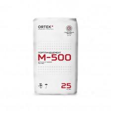 Цемент ПЦ-500 ОРТЕК 25 кг Д0 (червоний)
