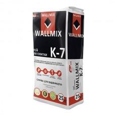 Клей для плитки К-7 Wallmix (25 кг)