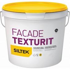Фарба структурна Fasade Texturit Siltek 4,5 л
