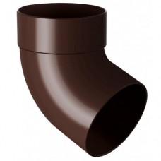 Коліно темно-коричневе ProAgua (90мм) з одним раструбом