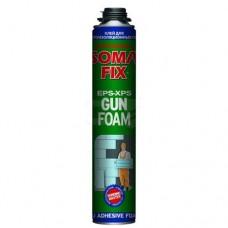 Піна монтажна SOMA FIX (проф піна-клей PROFIT750мл ( для теплоиз.плит); 0319)