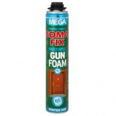 Піна монтажна SOMA FIX (проф MEGA 850мл всесезонна; 0319)