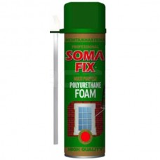 Піна монтажна SOMA FIX (ручна 300 мл всесезонна; 0219)