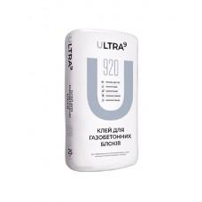 Клей для газобетонних блоків ULTRA - 920, 25кг