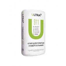 Клей для плитки універсальний ULTRA - 911, 25кг